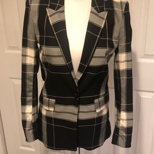 H&M NWT Plaid Blazer!
